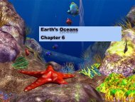 Earth's Oceans Chapter 6