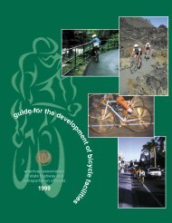 Guide for the Development of Bicycle Facilities - Bicycle Network ...