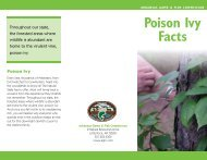 Poison Ivy Facts - Arkansas Game and Fish Commission