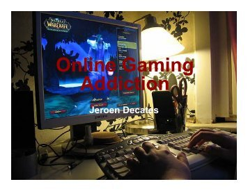 Online Gaming Addiction - Jdpsy.org