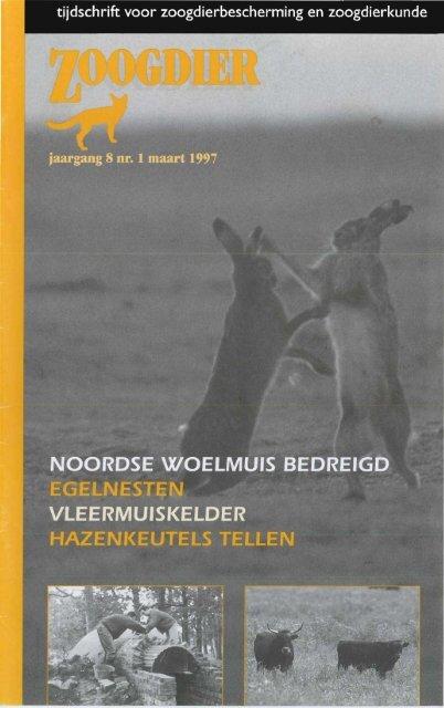tJjdschrift voor zoogdierbescherming en ... - Zoogdierwinkel