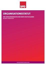 Organisationsstatut des Bezirks Hannover in der Fassung vom 8.6 ...