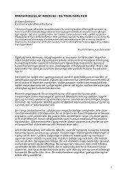 4 sider, pdf-fil (16k) - Hotel Pro Forma