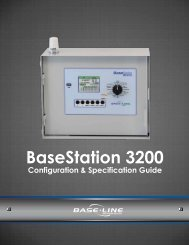 BaseStation 3200 Configuration Guide - Baseline Systems