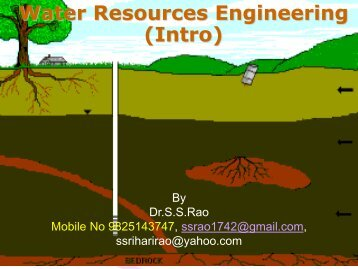 Introduction of water resources - Water Infotech