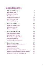1 Kijk, hier is Windows 8 1 2 Startscherm Windows 19 3 Bureaublad ...