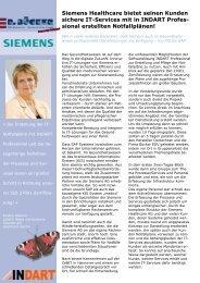 Siemens Healthcare bietet seinen Kunden sichere IT-Services mit in ...