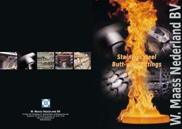 folder Butt-weld - W. Maass Nederland BV