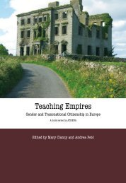 Teaching Empires. Gender and Transnational ... - MailChimp