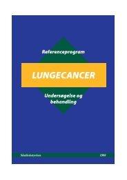 LUNGECANCER - Sundhedsstyrelsen