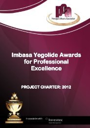 Imbasa Yegolide Awards Yegolide Awards for Professional ...