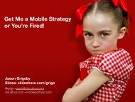 Get Me a Mobile Strategy or You_re Fired_* Paper