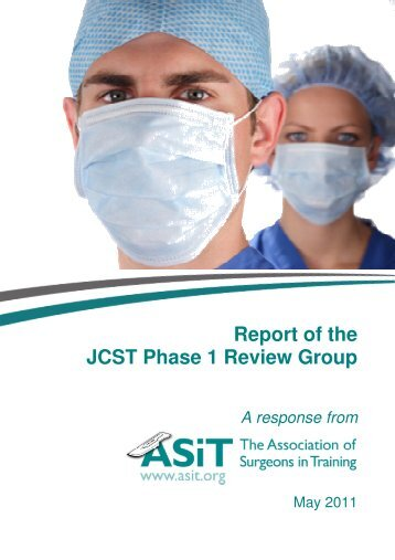 Report of the JCST Phase 1 Review Group A response from