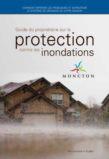 Guide du propriétaire sur la protection contre les - Ville de Moncton