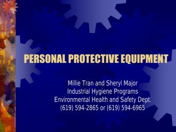 Personal Protective Equipment [PDF]