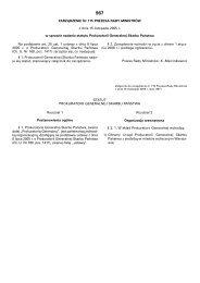 Zarządzenie Nr 115 Prezesa Rady Ministrów z dnia 15 listopada ...
