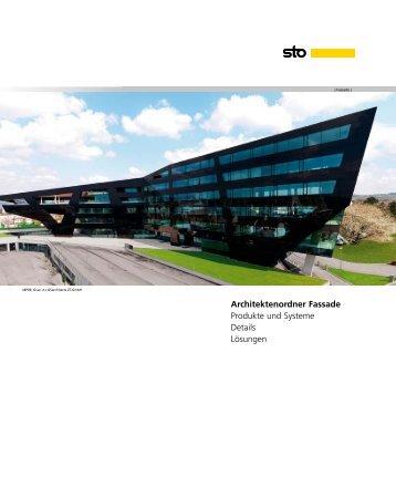 Architektenordner Fassade Produkte und Systeme Details ... - Sto AG