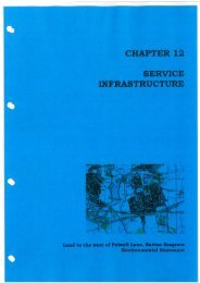 CHAPTER 12 SERVICE INFRASTRUCTURE