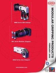 DSC Modular Gripping Products Catalog - Pneumatic Technology, Inc