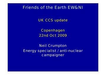 Neil Crumpton, FoE UK - Zero