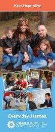 2013 CHCM Charities Brochure FINAL - Health Charities of Minnesota