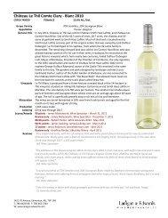 Château Le Thil Comte Clary - Blanc 2010 - Lanigan & Edwards ...