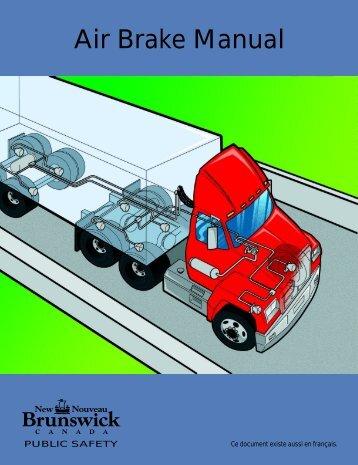 air brake manual rh yumpu com air brake manual a guide for students air brake manual drain valve