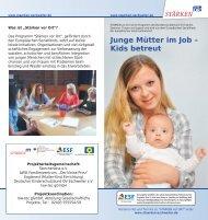 Junge Mütter im Job – Kids betreut - Integration Eschweiler