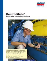Centro-Matic® Automated Lubrication Systems - Dean Industrial