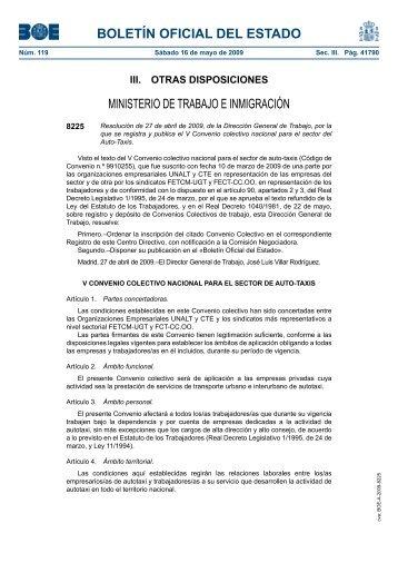 BOLETÍN OFICIAL DEL ESTADO - BOE.es
