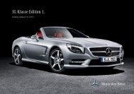 Preisliste SL-Klasse Edition 1 - magejo.de