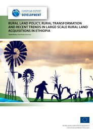rural land policy, rural transformation and recent trends in large ...