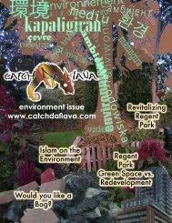 environment issue www.catchdaflava.com - Regent Park Focus ...