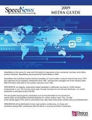 2009 mediakit ad rates Old.pdf - SpeedNews