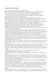 Leggi la biografia versione integrale - Artelab