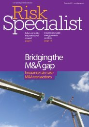 Risk Specialist Magazine - July 2011 (PDF 5Mb) - JLT