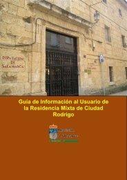 Guía de Información al Usuario de la Residencia Mixta de Ciudad ...