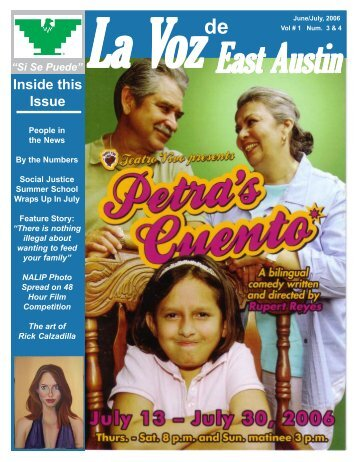 La Voz East Austin, June July, 2006.pmd - La Voz Newspapers