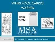 WHIRLPOOL CABRIO WASHER - MSAWorld.com