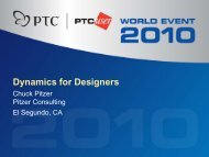 Dynamics for Designers - Pitzer Consulting