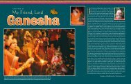 My Friend, Lord - Hinduism Today Magazine