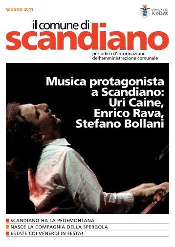 Giugno 2011 - Comune di Scandiano