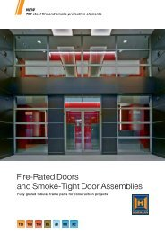Fire-Rated Doors and Smoke-Tight Door Assemblies - Hormann