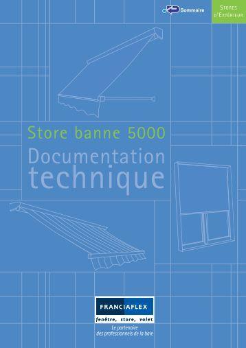 Motorisation - Store banne franciaflex ...