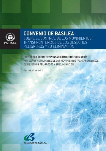 CONVENIO DE BASILEA - Basel Convention