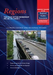 the search for sustainable development solutions with a - Regional ...