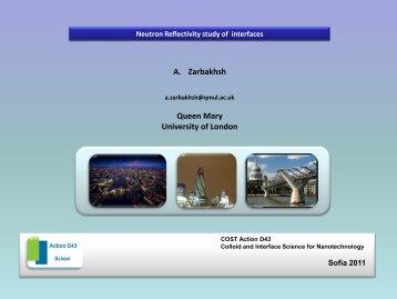 AZ Lecture.pdf - COST Action D43
