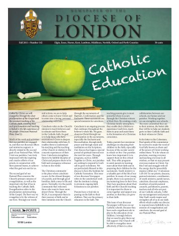 Fall: Catholic Education - Diocese of London