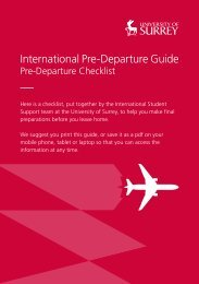 Int Pre Departure Guide summer 2014
