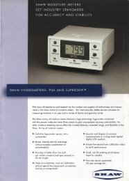 Page 1 Page 2 SHAW HYGROMETERS : 95A AND SUPERDEW i田 ...